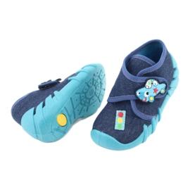 Încălțăminte pentru copii Befado 523P015 albastru marin albastru 4