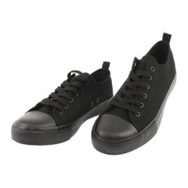 Adidași Black American Club LH16 negru 3