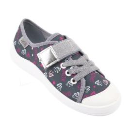 Încălțăminte pentru copii Befado 251X138 roz gri multicolor 2