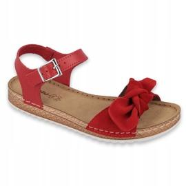 Pantofi pentru femei Comfort Inblu 158D117 roșu 1
