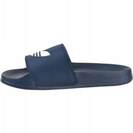 Adidas Adilette Lite Slides J FU9178 negru albastru marin 1