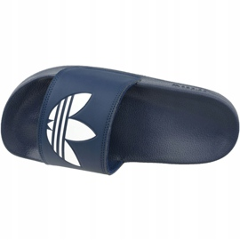 Adidas Adilette Lite Slides J FU9178 negru albastru marin 2