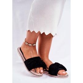 SEA Papuci pentru femei cu arc negru Thailanda 2