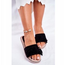 SEA Papuci pentru femei cu arc negru Thailanda 3