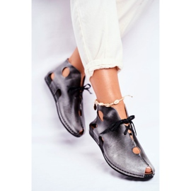 Pantofi pentru femei Maciejka Popiel 03426-03 gri 2