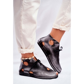 Pantofi pentru femei Maciejka Popiel 03426-03 gri 4