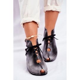 Pantofi pentru femei Maciejka Popiel 03426-03 gri 1