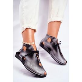 Pantofi pentru femei Maciejka Popiel 03426-03 gri 3