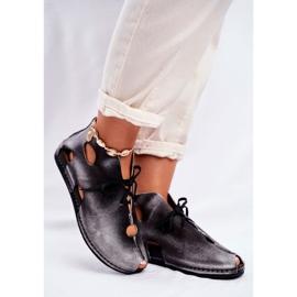 Pantofi pentru femei Maciejka Popiel 03426-03 gri 5