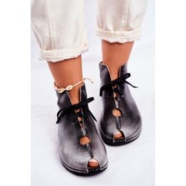Pantofi pentru femei Maciejka Popiel 03426-03 gri 6