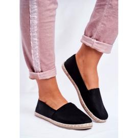 NEWS Espadrilele cu pantofi negri negru 2