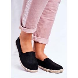 NEWS Espadrilele cu pantofi negri negru 1