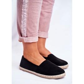 NEWS Espadrilele cu pantofi negri negru 5