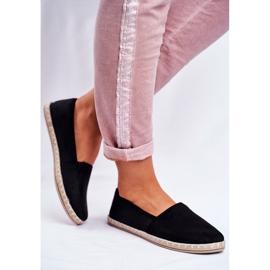 NEWS Espadrilele cu pantofi negri negru 3
