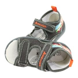 American Club Sandale americane pantofi pentru copii talpă TEN46 4
