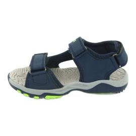 Sandale KangaRoos 18337 insert din spumă albastru marin verde 2