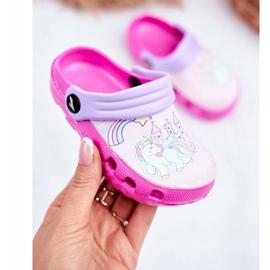 Papuci pentru copii Foam Crocs Ponei roz Ponei 2