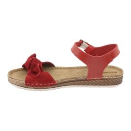 Pantofi pentru femei Comfort Inblu 158D117 roșu 2
