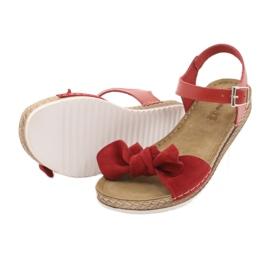 Pantofi pentru femei Comfort Inblu 158D117 roșu 4