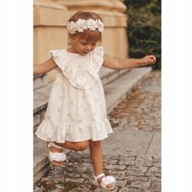 FRROCK Sandale pentru copii cu velcro strălucitor alb Milena 8