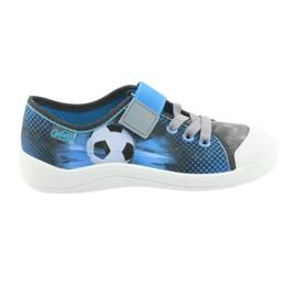 Pantofi pentru copii Befado ball 251Y120 albastru gri albastru marin 6