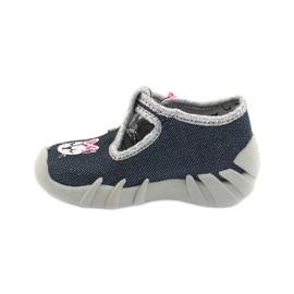 Încălțăminte pentru copii Befado 110P361 albastru marin roz multicolor 2