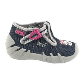 Încălțăminte pentru copii Befado 110P361 albastru marin roz multicolor 1