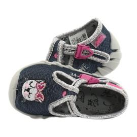 Încălțăminte pentru copii Befado 110P361 albastru marin roz multicolor 5