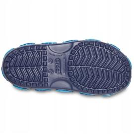 Sandale Crocs pentru copii Crocs Fl Shark Band Sandal B bleumarin 206365 410 albastru marin 5