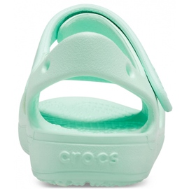 Sandale pentru copii Crocs Sandale Classic Cross Strap Ps neo mint 206245 3TI verde 4