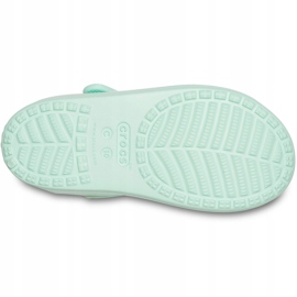 Sandale pentru copii Crocs Sandale Classic Cross Strap Ps neo mint 206245 3TI verde 5