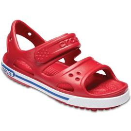 Sandale Crocs pentru copii Crocband Ii Sandal Ps Kids roșu-albastru 14854 6OE 3