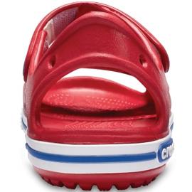 Sandale Crocs pentru copii Crocband Ii Sandal Ps Kids roșu-albastru 14854 6OE 4