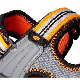 Sandale pentru băiat 4F multicolor HJL20 JSAM003 90S gri 4