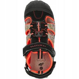 Sandale pentru băiat 4F multicolor HJL20 JSAM002 90S negru 1