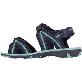 Sandale pentru copii Kappa Breezy Ii K încălțăminte copii bleumarin-menta 260679K 6737 albastru marin 2