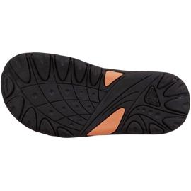 Kappa Symi T Încălțăminte sandale pentru copii negre și portocalii 260685T 1144 negru portocale 3
