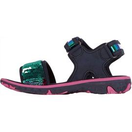 Sandale pentru copii Kappa Seaqueen K Încălțăminte copii bleumarin-roz 260767K 6722 albastru marin multicolor 2
