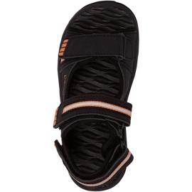 Kappa Symi T Încălțăminte sandale pentru copii negre și portocalii 260685T 1144 negru portocale 1