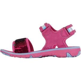 Kappa Seaqueen K încălțăminte Sandale pentru copii roz-albastru 260767K 2260 2