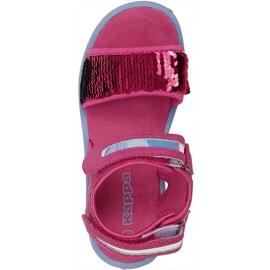 Kappa Seaqueen K încălțăminte Sandale pentru copii roz-albastru 260767K 2260 1