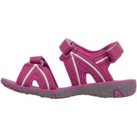 Kappa Breezy Ii K încălțăminte Sandale pentru copii roz-alb 260679K 2210 2
