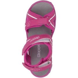 Kappa Breezy Ii K încălțăminte Sandale pentru copii roz-alb 260679K 2210 1