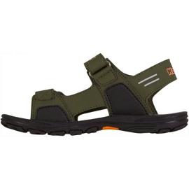 Kappa Pure T încălțăminte sandale pentru copii verzi și portocalii 260594T 3144 verde 2