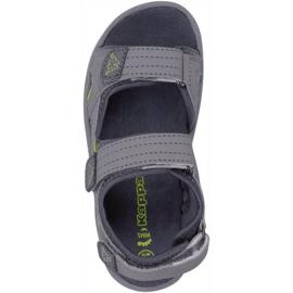 Kappa Early Ii K încălțăminte Sandale pentru copii gri-lime 260373K 1633 1