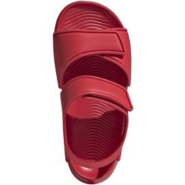 Sandale pentru copii adidas Altaswim C roșu EG2136 1