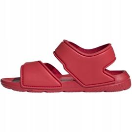 Sandale pentru copii adidas Altaswim C roșu EG2136 2