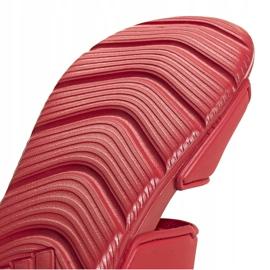 Sandale pentru copii adidas Altaswim C roșu EG2136 4