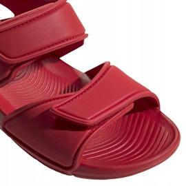 Sandale pentru copii adidas Altaswim C roșu EG2136 3