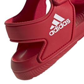 Sandale pentru copii adidas Altaswim C roșu EG2136 5
